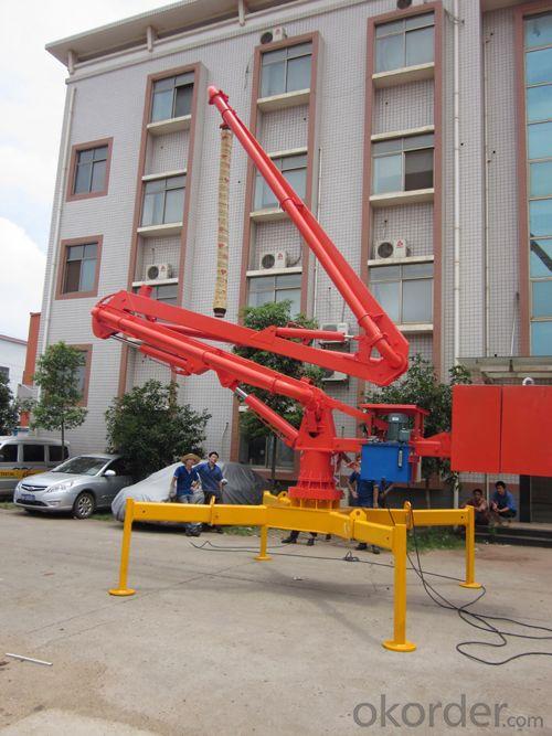 High Performance HG13 Spider Concrete Placing Boom