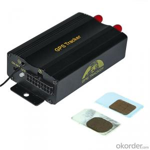 TK103A GPS Tracker system with Fuel Sensor, Temperature sensor and camera