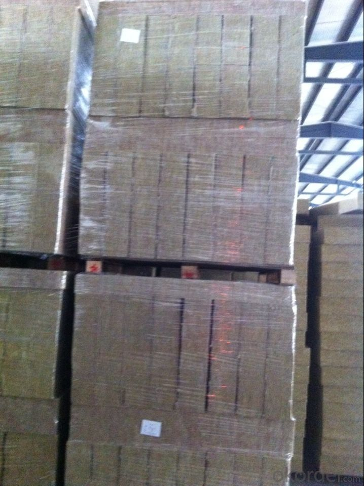 Rock Wool Board 60KG Building Excellent Insulation Material