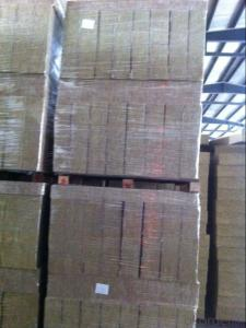Rock Wool Board 60KG50MM For Building Insulation