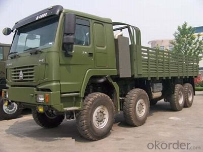 HOWO All Wheel Drive Truck 8x8 GREEN