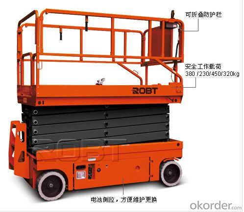 Total elctric scissor lift