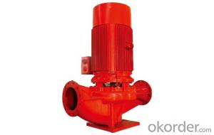 XBD-DW series horizontal multi-stage single-suction fire pump