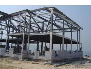 Weare House Steel Structure