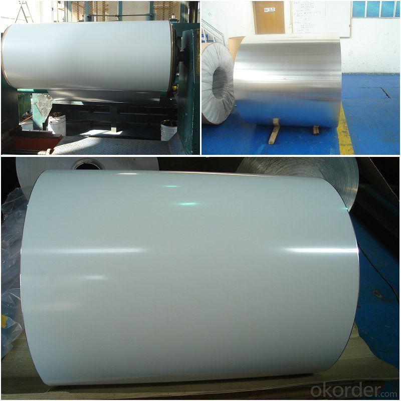big rolls of aluminum coil sheet