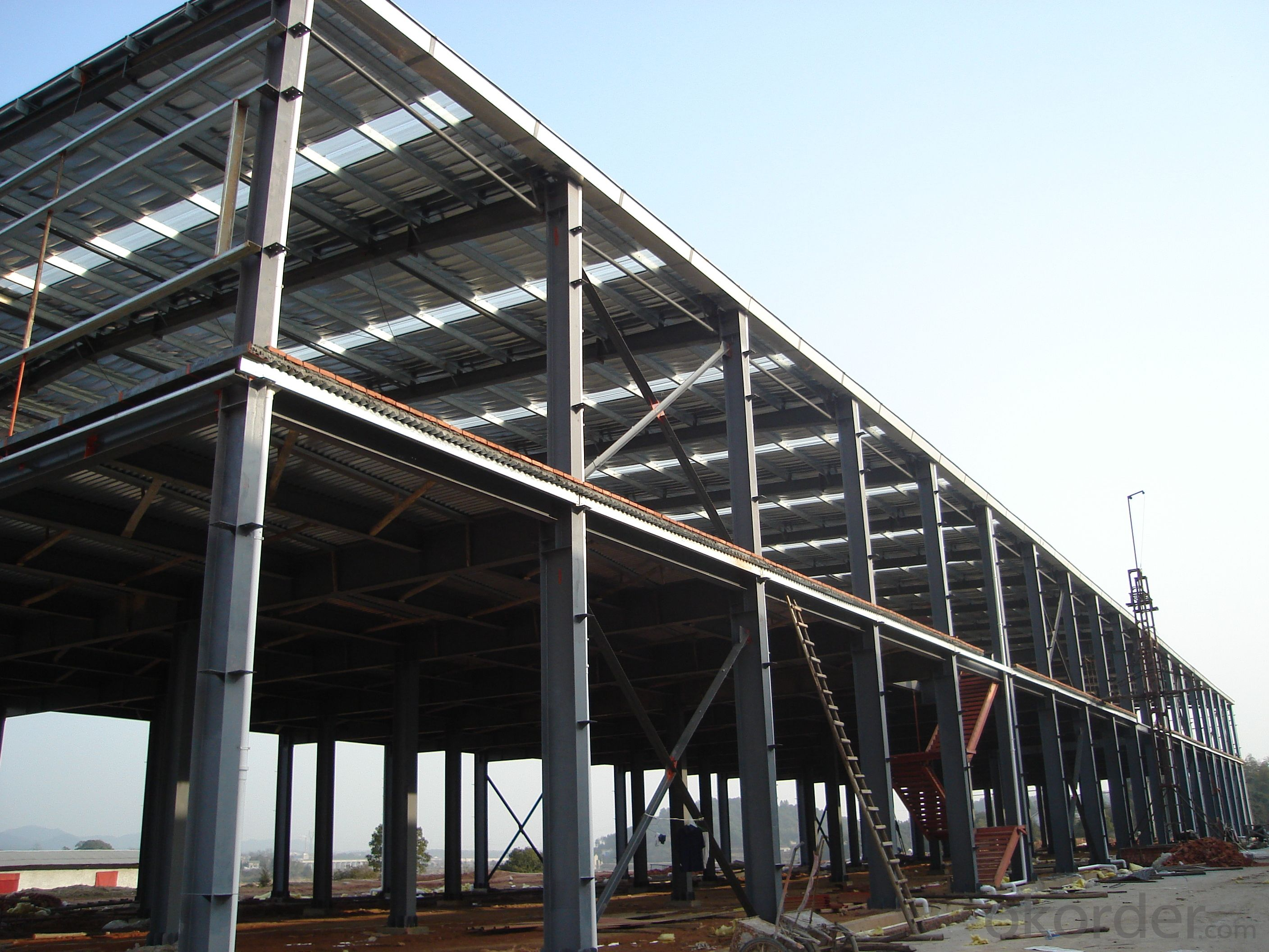 light steel structure workshop made in China