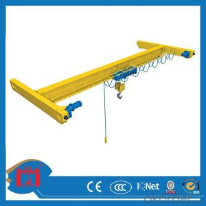 LDA type single girder overhead crane 10t