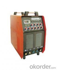 WSME-315A Inverter AC DC Pulse TIG Welding Machine