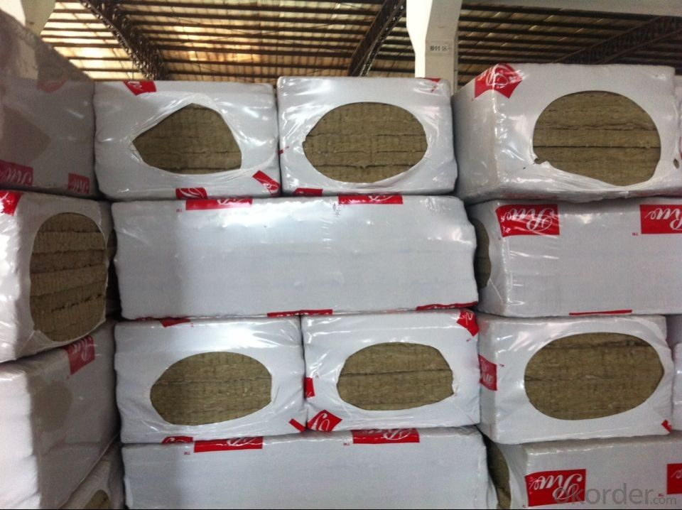Rock Wool Board 70KG50MM For Roofing Insulation