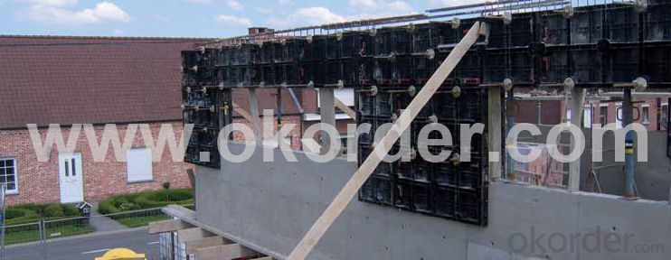 Chinese plastic concrete reusable formwork for construction