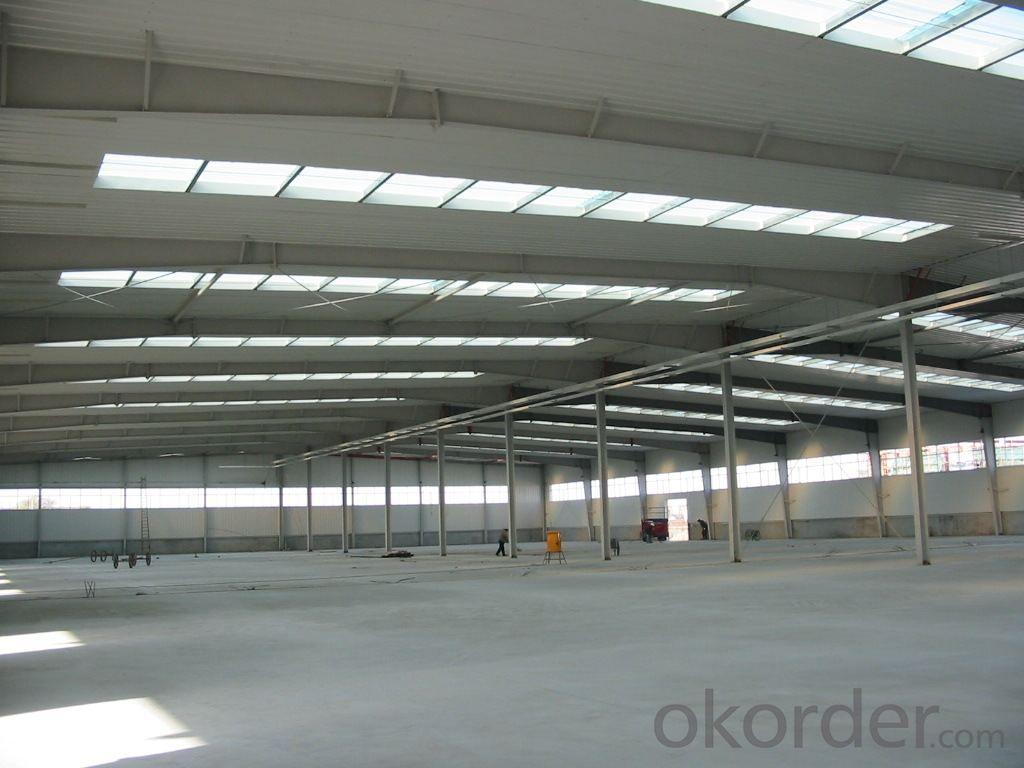 Prefabricated House of High Quality Heavy Steel Structure Worshop or Parking system
