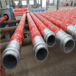 China supplier 85bar concrete pump fitting rubber hose