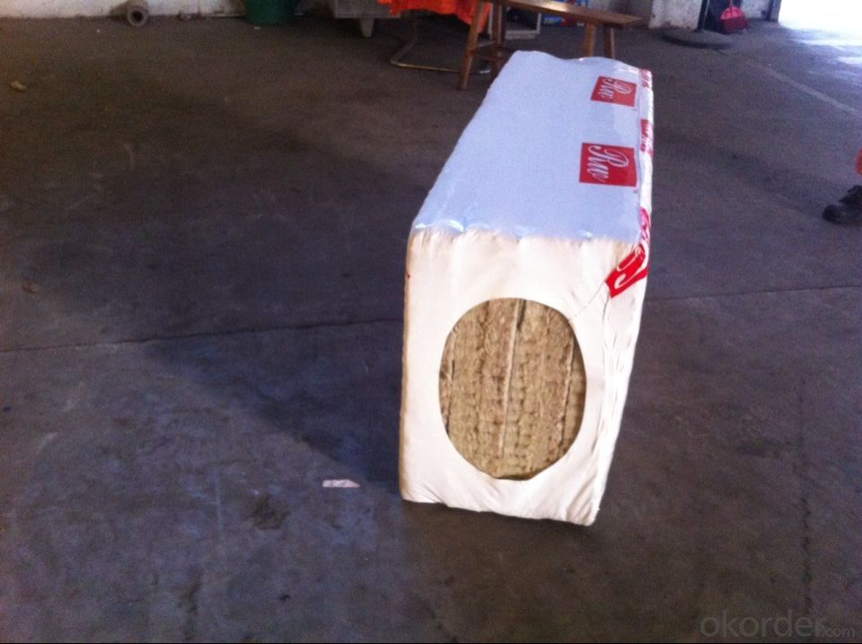 Rock Wool Board 120KG50MM For Ware House Insulation