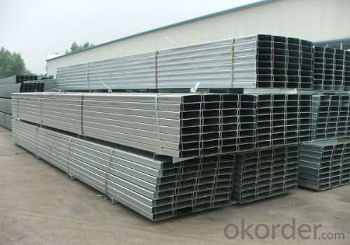 Cold-Rolled C Channel Steel with Good Quality 100mm*50mm