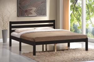solid wood bed,double bed,single bed