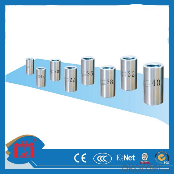 Top quality Parallel Thread Rebar Coupler
