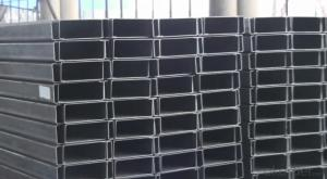 Cold-Rolled C Channel Steel with High Quality 200mm*50mm/60mm