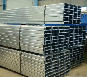 Cold-Rolled C Channel Steel with High Quality 140mm-160mm