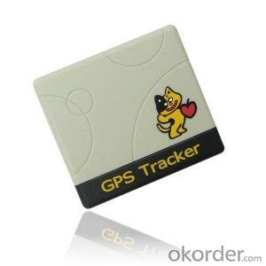GPS Tracker with neck strap for pets and person