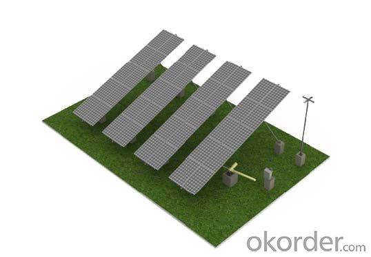 tilt axis tracking system Solar mounting system
