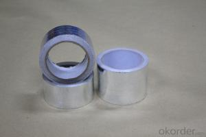 PLAIN ALUMINUM FOIL TAPE for THERMAL INSULATION T-F3001FR