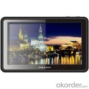 GPS Navigation 5 inch with Camera Recorder or DVR