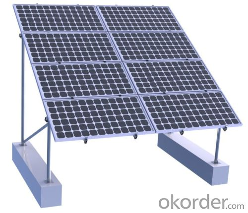 Buy Solar Pv Panel Ground Mounting Rack System Price Size