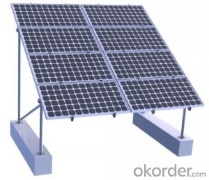 Solar PV Panel Ground Mounting Rack System