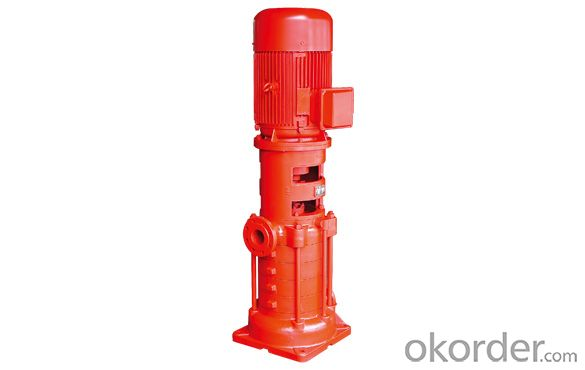 XBD-DL series  vertical multi-stage single-suction fire pump