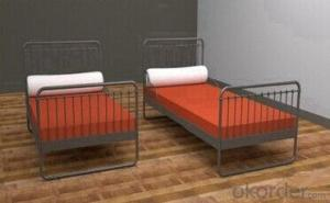 Iron Single Bunk Bed