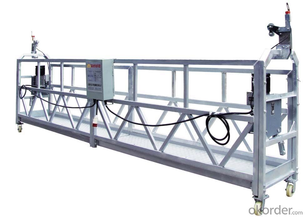 ZLP series suspended platform  cleaning and maintenance