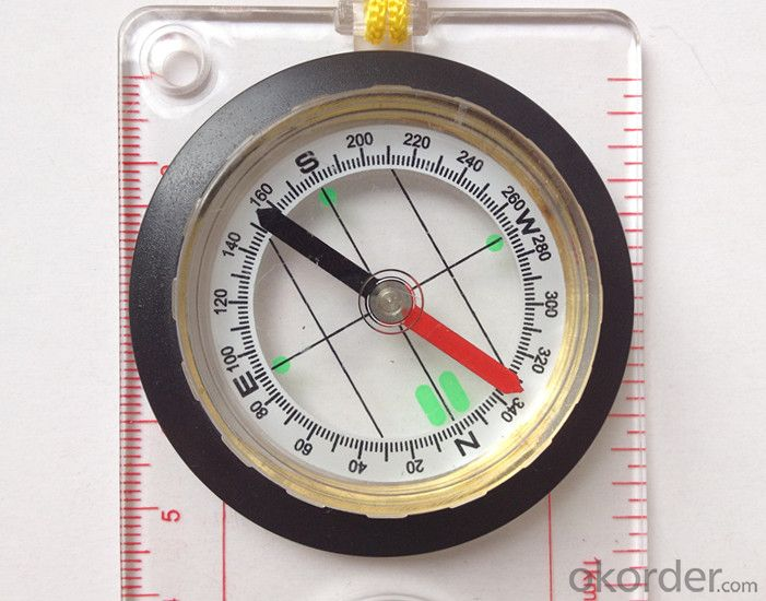 Transparant Map Scale Compass DC45-5A
