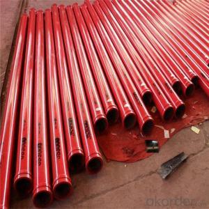 DN125 concrete pump 45Mn2 boom pipe