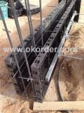 plastic reusable formwork for concrete