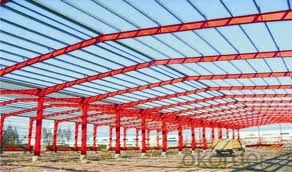 Made in China Prefabricated House of Heavy Steel Structure
