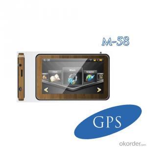 Car GPS 5inch MediaTek 486MHz support bluetooth TMC FM transmitter CE,FCC certification