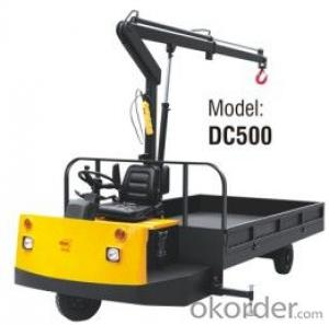 Electric Truck with Crane- DC500