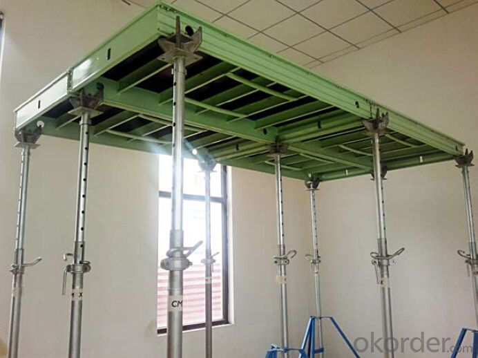 Aluminum-frame Formwork System for Slap and Shear Wall