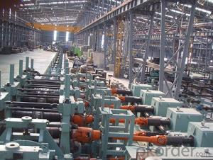 H.F pipe line / Ф140 Pipe Mill roll forming machine