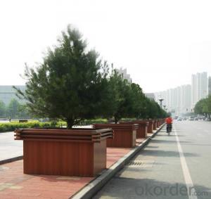Good Quality Wood Plastic Composite Planter