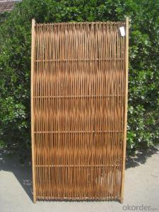 WICKER NATURAL SCREENING GARDEN DECORATION PANEL