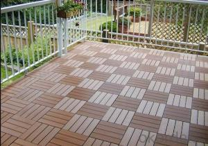 Good Quality Wood Plastic Composite Outdoor DIY Decking