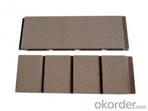 Good Quality Wood Plastic Composite Wall Cladding