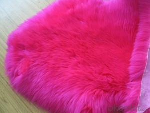 Colorful Faux Sheep Skin Rug