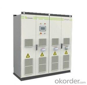 Solar inverter CP500TL, 500kw for Solar Plant