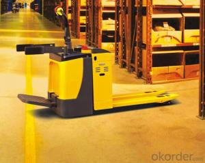 CBD 15A SEMI-ELECTRIC PALLET TRUCK