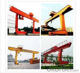 Single Girder L Type 10 Ton Gantry Crane