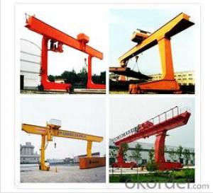 Single Girder L Type 10 Ton Gantry Crane