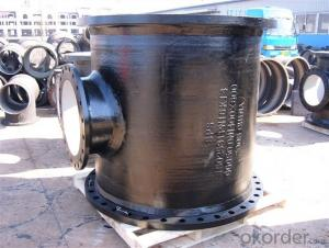 Ductile Iron Pipe Fitting All Flange Tee Big Size