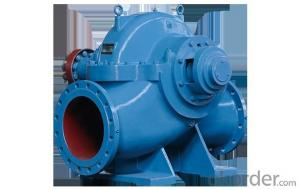 KQSN series horizontal open in single stage double suction centrifugal pump